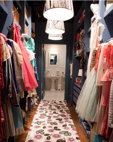 Carrie's closet